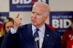 Democratic presidential candidate former Vice President Joe Biden speaks about gun violence at a campaign stop, Thursday, Feb. 20, 2020, in Las Vegas. (AP Photo/Matt York)