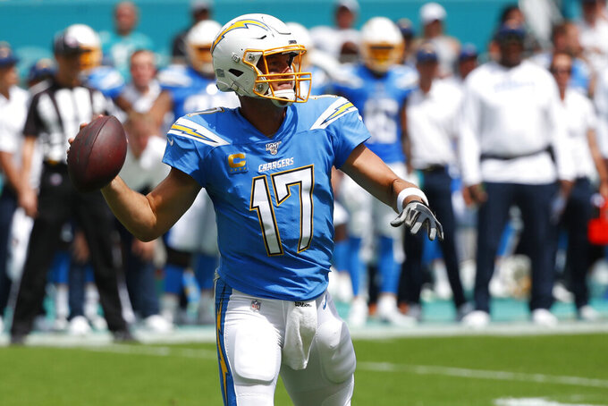 Chargers, Rivers still effective despite changing targets