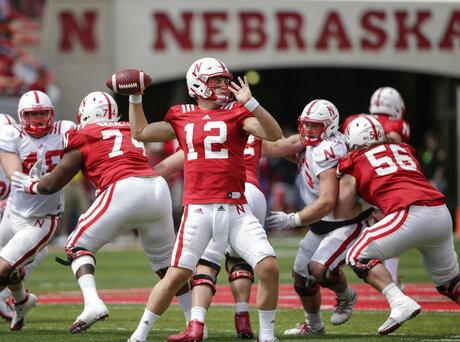 Nebraska Spring Game Football