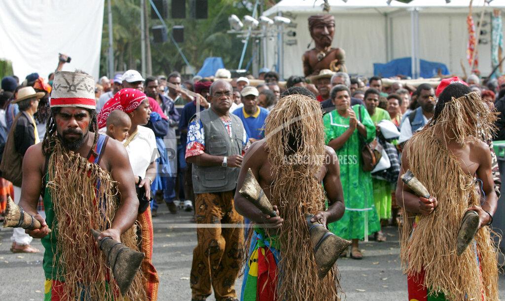 Associated Press International News New Caledonia NEW CALEDONIA