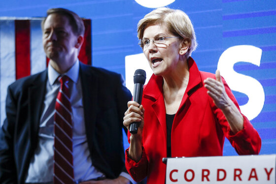 Elizabeth Warren, Richard Cordray