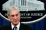 FILE - In this May 29, 2019, file photo, special counsel Robert Mueller speaks at the Department of Justice Wednesday, in Washington, about the Russia investigation. Democrats on the House Judiciary Committee plan to focus their questions in a highly-anticipated hearing with Mueller next week on a narrow set of episodes laid out in the special counsel's report, an effort to direct Americans' attention to what they see as the most egregious examples of President Donald Trump's conduct.  (AP Photo/Carolyn Kaster, File)