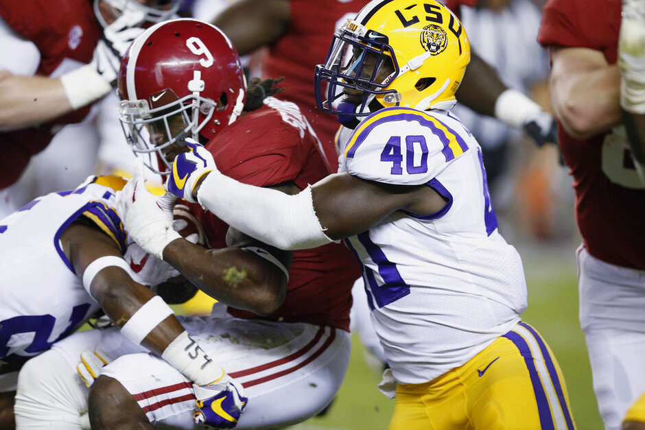 Bo Scarbrough, Devin White