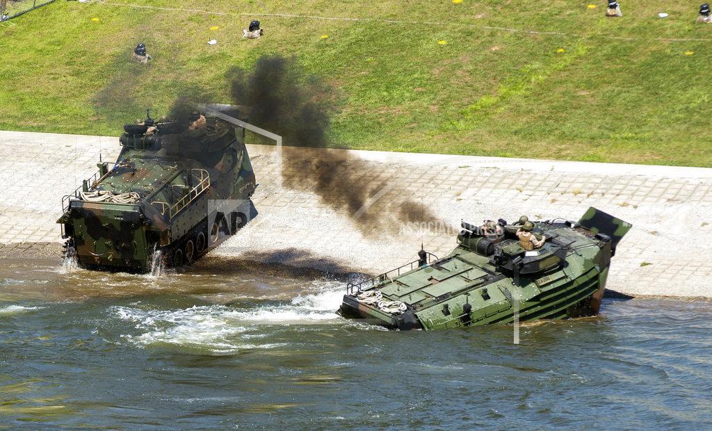 Marines Training Accident