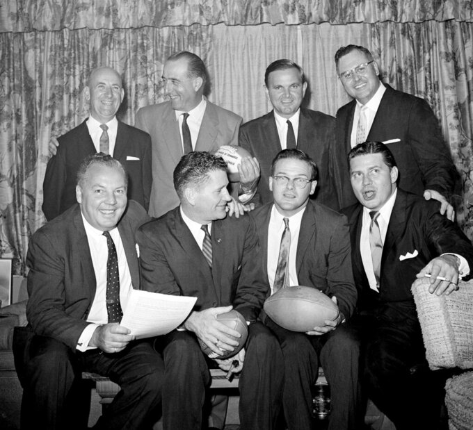 A look at the NFL in the 1960s