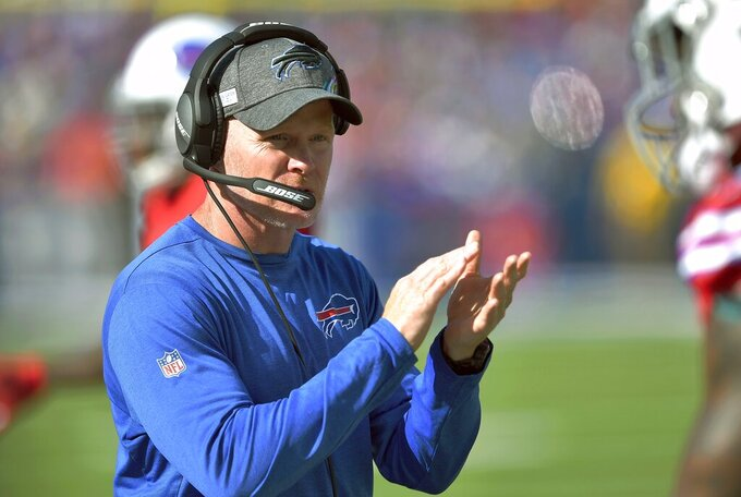 Bills coach criticizes past regime for 'irresponsible' moves