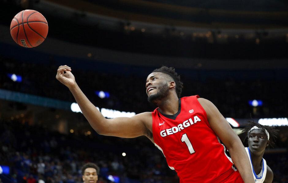 APTOPIX SEC Georgia Kentucky Basketball