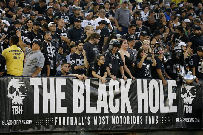 Seattle Seahawks at Oakland Raiders 8/31/2017