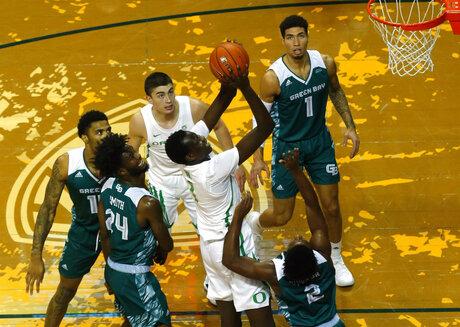 Green Bay Oregon Basketball