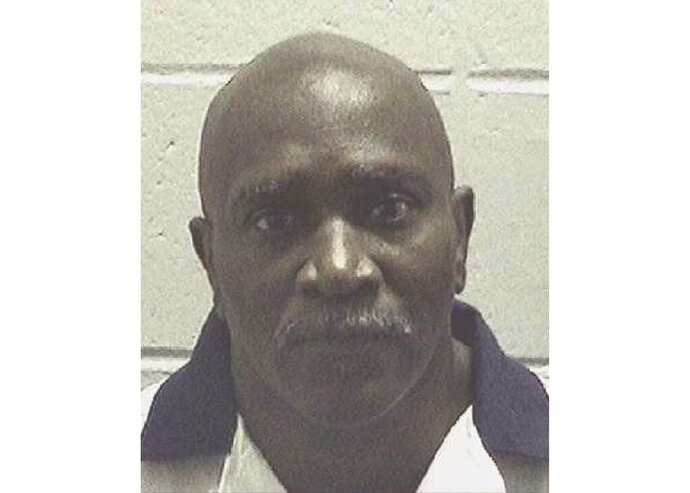 This undated booking photo provided by the Georgia Department of Corrections shows Keith