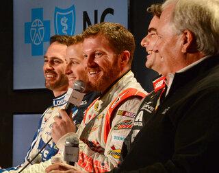 NASCAR Hendrick Media Tour Auto Racing
