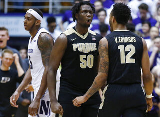 Caleb Swanigan, Vincent Edwards, Dererk Pardon