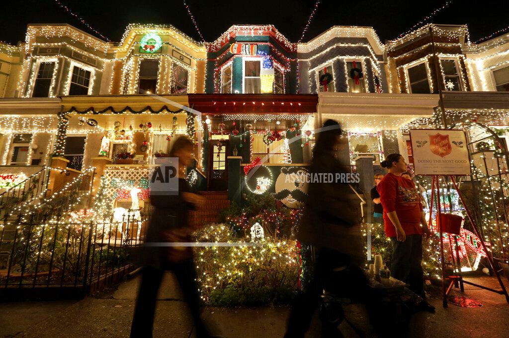 Christmas Lights in America
