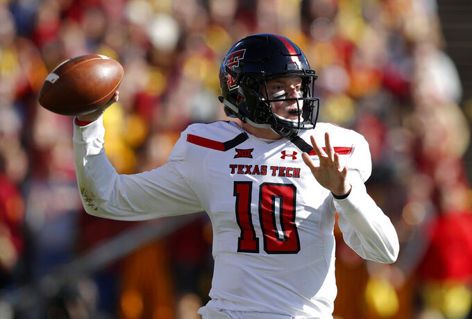 All is Wells for Texas Tech, familiar offense to go with D