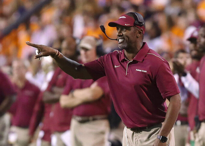 Penalty trouble puts FSU, Miami, Syracuse in early ACC hole
