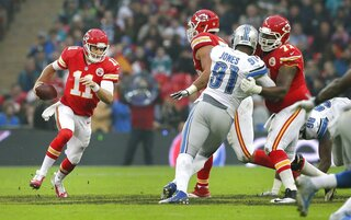 Britain Football Lions Chiefs