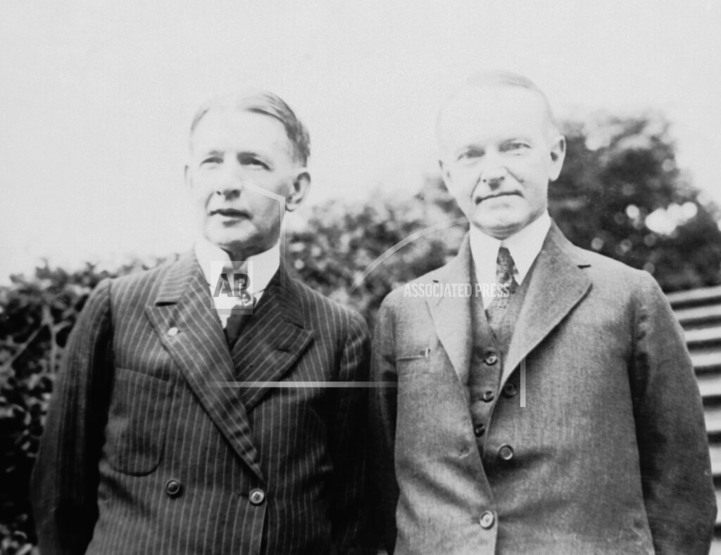 Watchf Associated Press Domestic News  Dist. of Col United States APHS64526 Calvin Coolidge