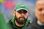 New York Jets head coach Adam Gase walks the field as his team warms up before an NFL football game against the Buffalo Bills Sunday, Aug. 26, 2018, in Orchard Park, N.Y. The Broncos play the New York Jets on Thursday, Oct. 1, 2020. Both teams are off to 0-3 starts for the second consecutive season. (AP Photo/Adrian Kraus, File)