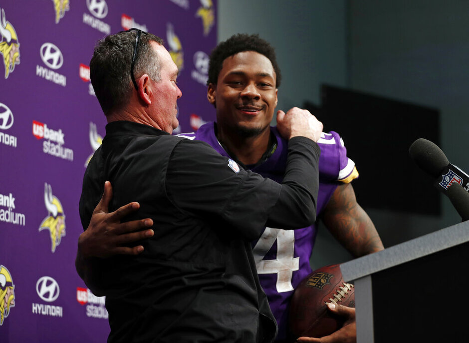 Stefon Diggs, Mike Zimmer