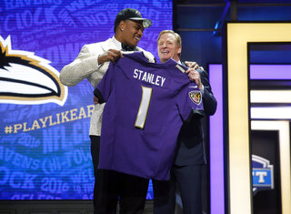 Ronnie Stanley, Roger Goodell