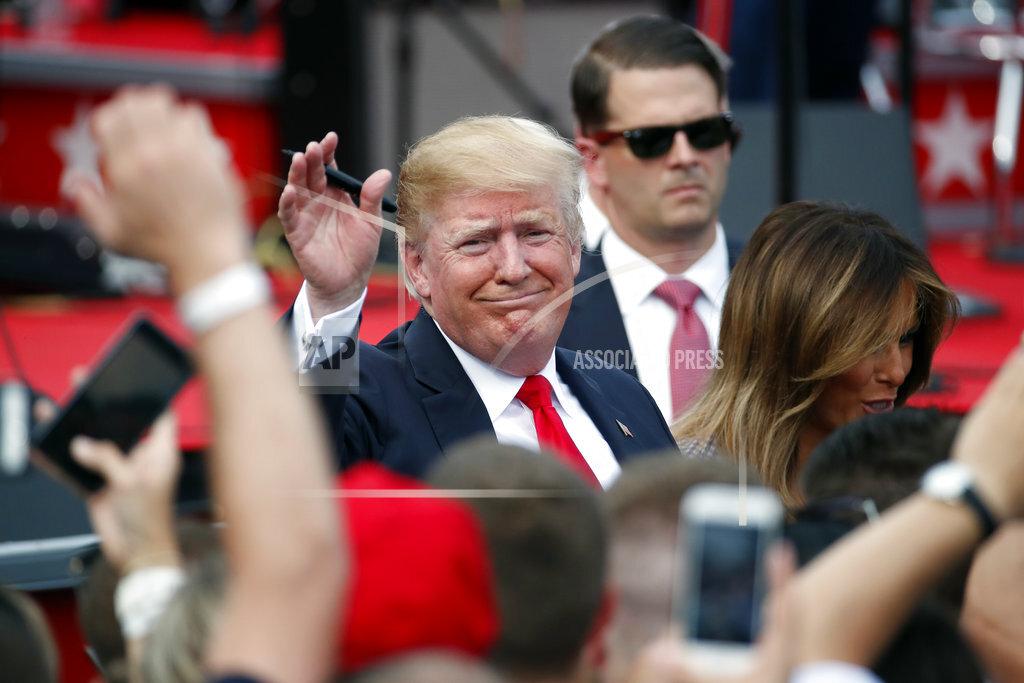 Trump July Fourth