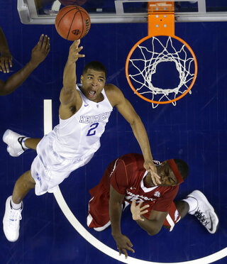 APTOPIX SEC Arkansas Kentucky Basketball