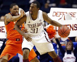 SEC Texas A M Auburn Basketball