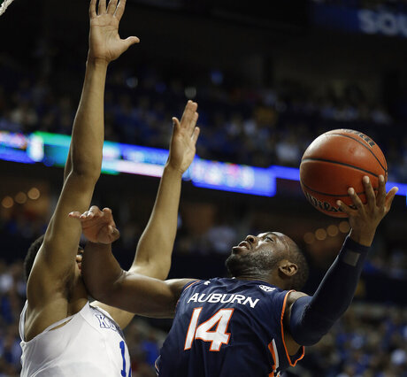 SEC Auburn Kentucky Basketball