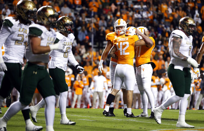 Tennessee, Kentucky look to get closer to bowl eligibility