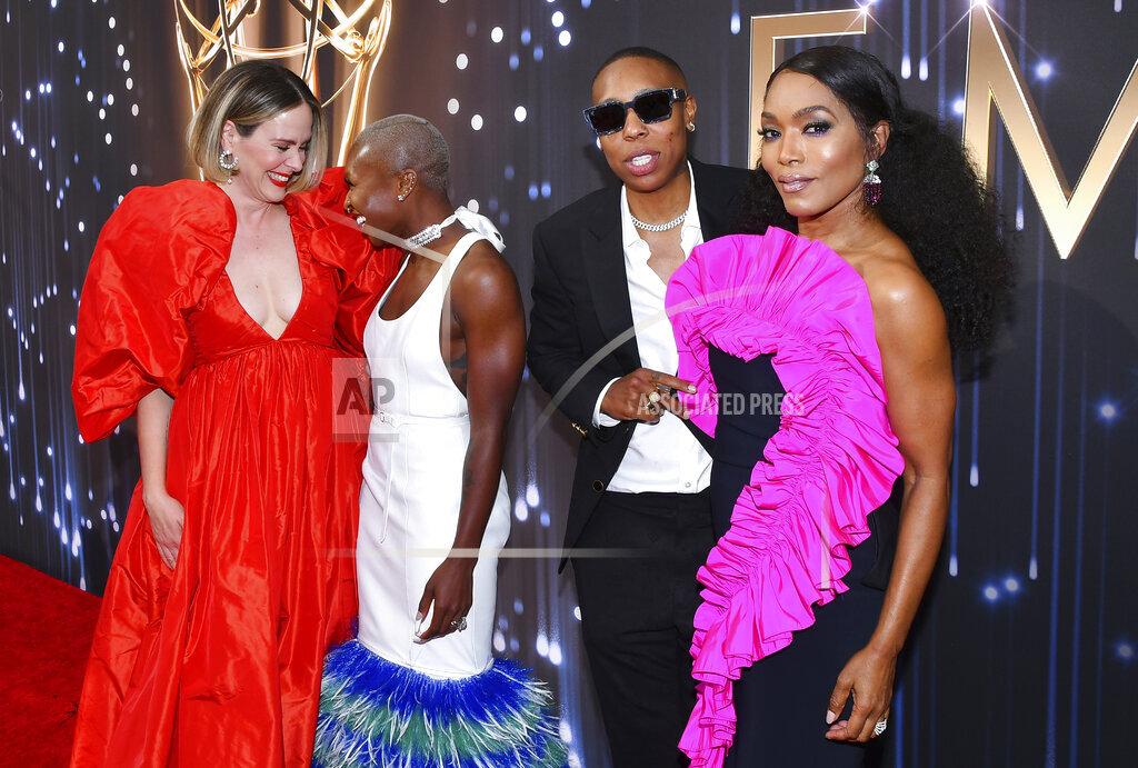 73rd Emmy Awards - Roaming red carpet