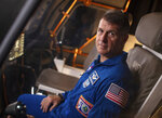 In this Tuesday, July 9, 2019 photo provided by NASA, astronaut Shane Kimbrough poses for a portrait at the Johnson Space Center in Houston. Kimbrough is a member of the crew for SpaceX's third astronaut launch to the International Space Station on Friday, April 23, 2021. (Bill Ingalls/NASA via AP)
