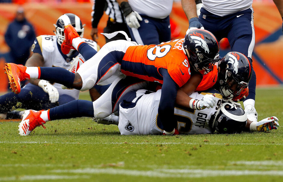 Broncos Miller Football