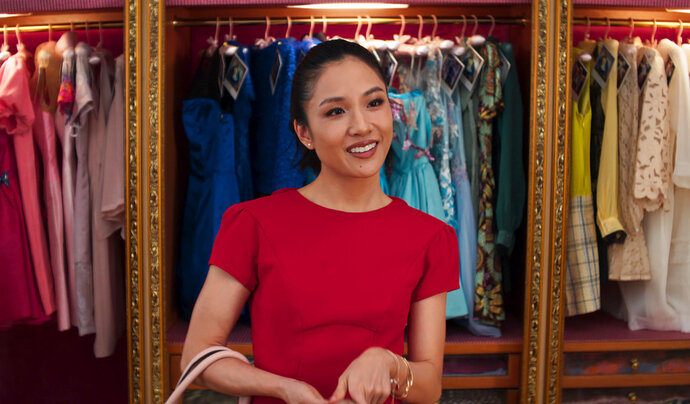 This image released by Warner Bros. Entertainment shows Constance Wu in a scene from