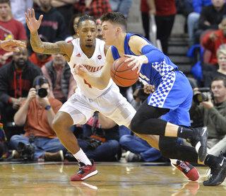 Kentucky Louisville Basketball