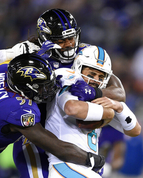 C.J. Mosley, Za'Darius Smith, Matt Moore