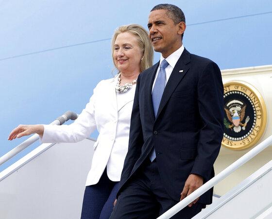 Barack Obama, Hillary Clinton