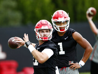 Jake Fromm, Justin Fields