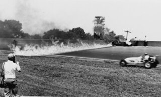 Indy 500 1949 Countdown Race 33 Auto Racing