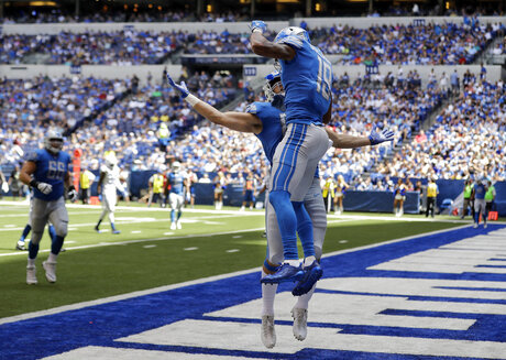 Kenny Golladay, Cole Wick