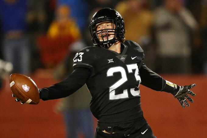 No. 24 Iowa State hosts Drake in season finale