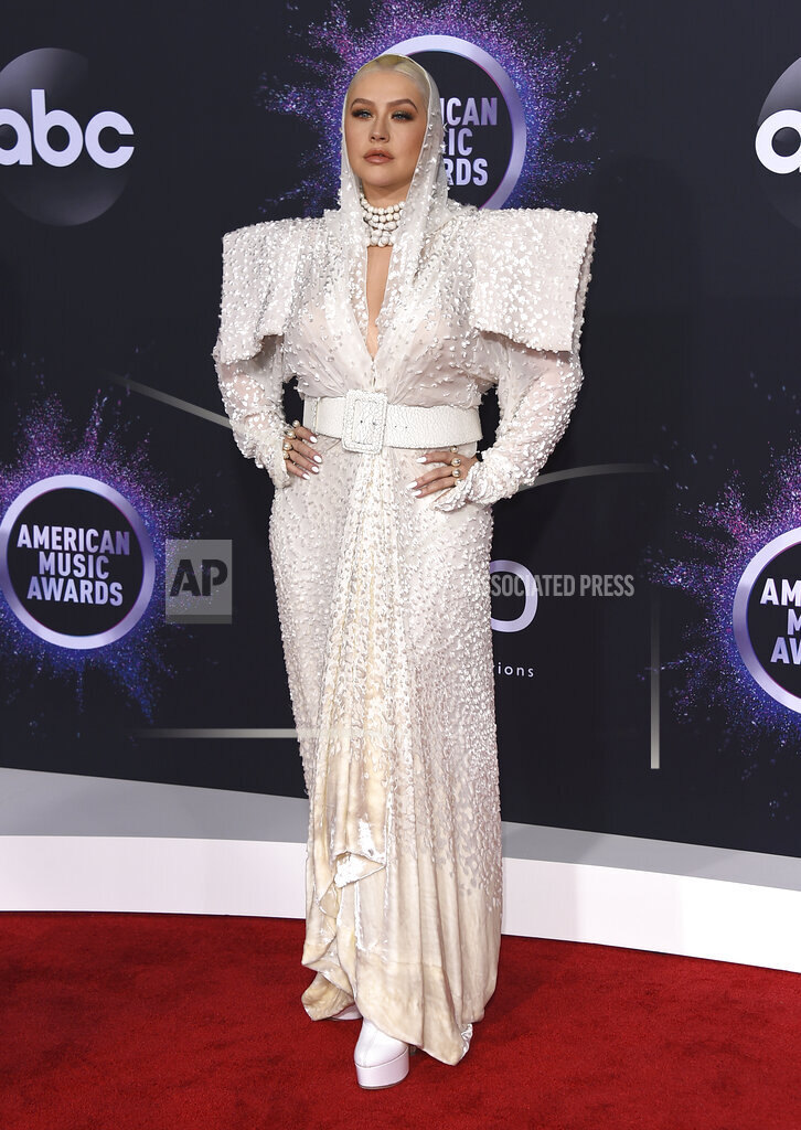 APTOPIX 2019 American Music Awards - Arrivals