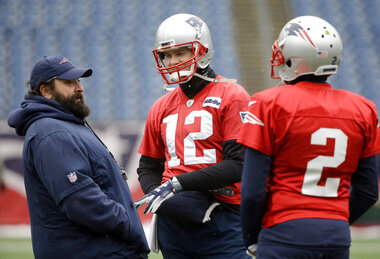 Matt Patricia, Tom Brady, Brian Hoyer