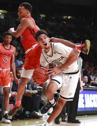 APTOPIX Virginia Tech Georgia Tech Basketball