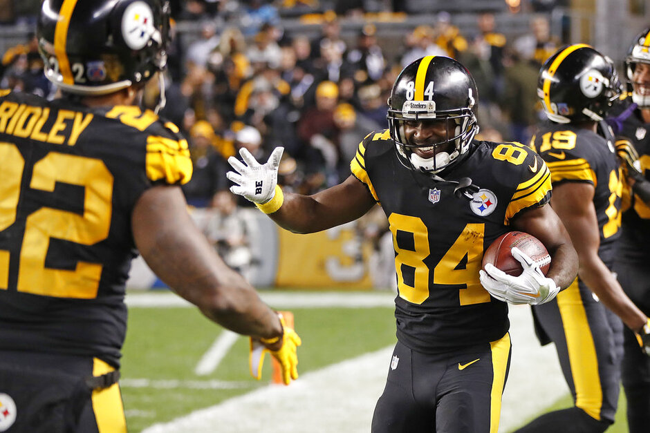 Antonio Brown, Stevan Ridley