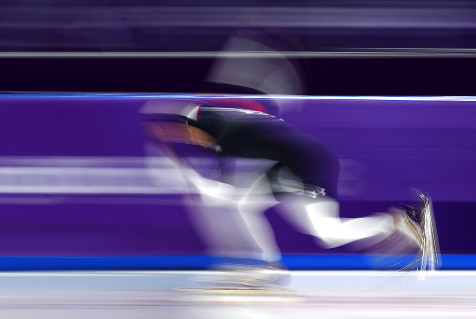 APTOPIX Pyeongchang Olympics Speed Skating Women