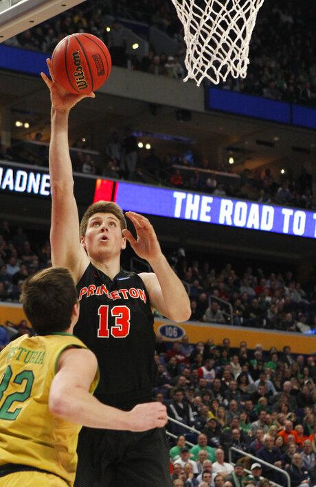 NCAA Princeton Notre Dame Basketball