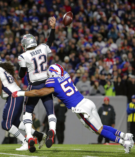 Bills Patriots Preview Football
