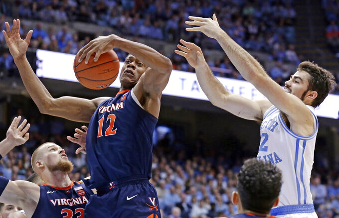 Virginia Cavaliers at North Carolina Tar Heels 2/11/2019