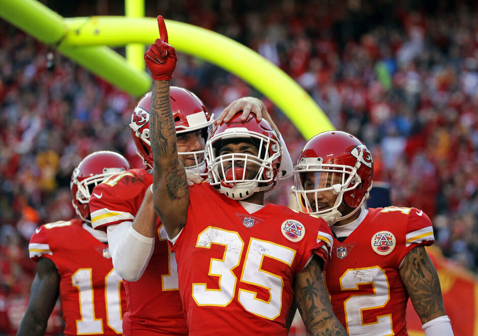 Alex Smith, Charcandrick West, Albert Wilson