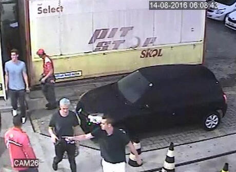 Rio Olympics Lochte Robbery